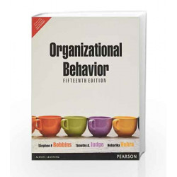 Organizational Behavior, 15e by Robbins/Vohra Book-9789332500334