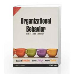 Organizational Behavior, 15e by Robbins/Vohra Book-9789332500334