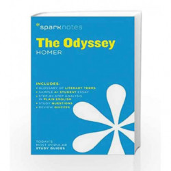 The Odyssey SparkNotes Literature Guide by Homer Book-9781411469761