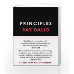 Principles: Life and Work by Ray Dalio Book-