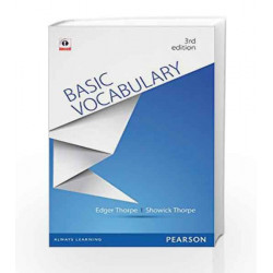 Basic Vocabulary for Competitive Examinations by Showick Thorpe Book-9789332508101