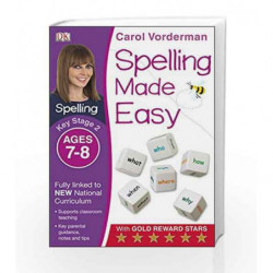 Spelling Made Easy - Key Stage 2 by Carol Vorderman Book-9781409349457
