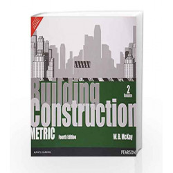 Building Construction: Metric Volume 2, 4e: Metric - Vol. 2 by McKay Book-9789332509344