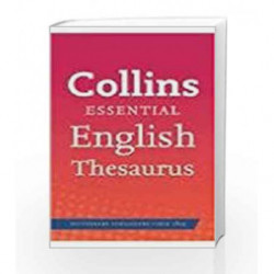 Collins Essential English Thesaurus by NA Book-9780007942893