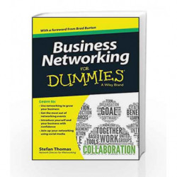 Business Networking for Dummies by Stefan Thomas Book-9788126550487