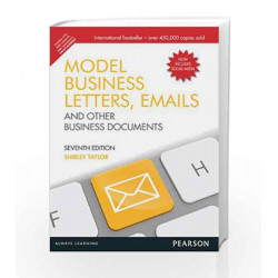 Model Business Letters, Emails and Other Business Documents, 7e by Taylor Book-9789332516014