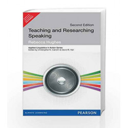 Teaching and Researching: Speaking by  Book-9789332517066