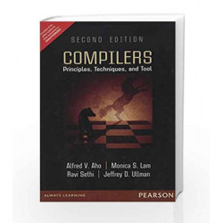 Compilers, 2e by Aho Book-9789332518667