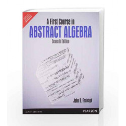 A First Course in Abstract Algebra, 7e by Fraleigh Book-9789332519039