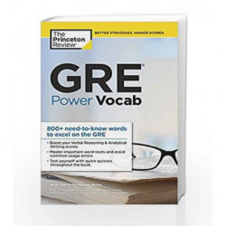 GRE Power Vocab (Graduate School Test Preparation) by PRINCETON REVIEW Book-9781101881767