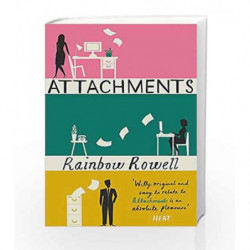 Attachments by Rainbow Rowell Book-9781409120537