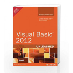Visual Basic 2012 Unleashed by Alessandro Del Sole Book-9789332523920