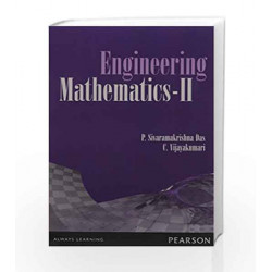 Engineering Mathematics-II, 1e by Das/ Vijaya Kumari Book-9789332526372