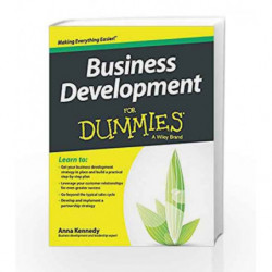 Business Development for Dummies by Anna Kennedy Book-9788126554454