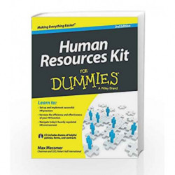 Human Resource Kit for Dummies, 3ed by Max Messmer Book-9788126554478