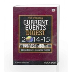 Current Event Digest 2014-2015 English by Thorpe Book-9789332530300