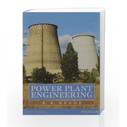 Power Plant Engineering, 1e by R K Hegde Book-9789332534100