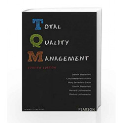 Total Quality Management 4e by Besterfield Book-9789332534452
