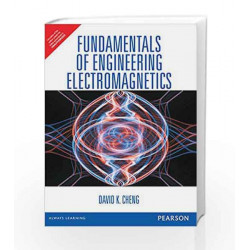 Fundamentals of Engineering Electromagnetics, 1e by Cheng Book-9789332535138