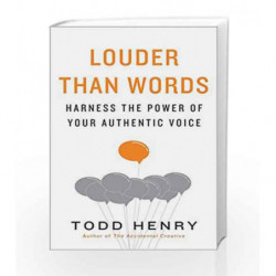 Louder Than Words by Todd Henry Book-9781591847526