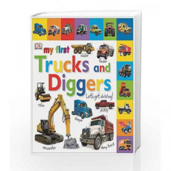 My First Trucks and Diggers Let's Get Driving (My First Board Book) by NIL Book-9781409345961