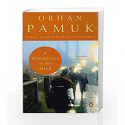 A Strangeness in My Mind by Orhan Pamuk Book-9780670085583