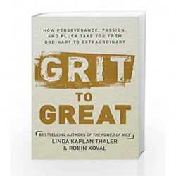 Grit to Great (Lead Title) by KAPLAN THALER, LINDA Book-9780804189309