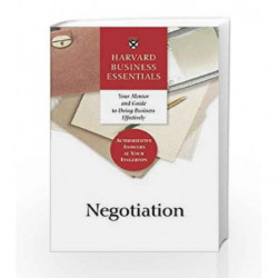 Harvard Business Essentials: Guide to Negotiation by NA Book-9781591391111