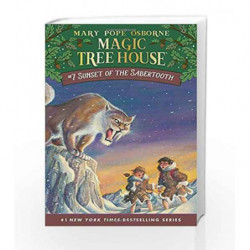 Sunset of the Sabertooth (Magic Tree House (R)) by Mary Pope Osborne Book-9780679863731