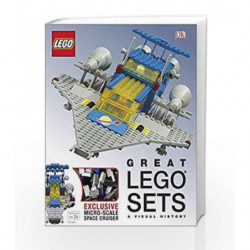Great Lego: Sets A Visual History by Daniel Lipkowitz Book-9780241011638