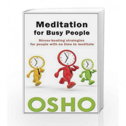 Meditation for Busy People by Osho Book-9781938755040