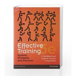 Effective Training, 5e by Blanchard/Ram Book-9789332537019