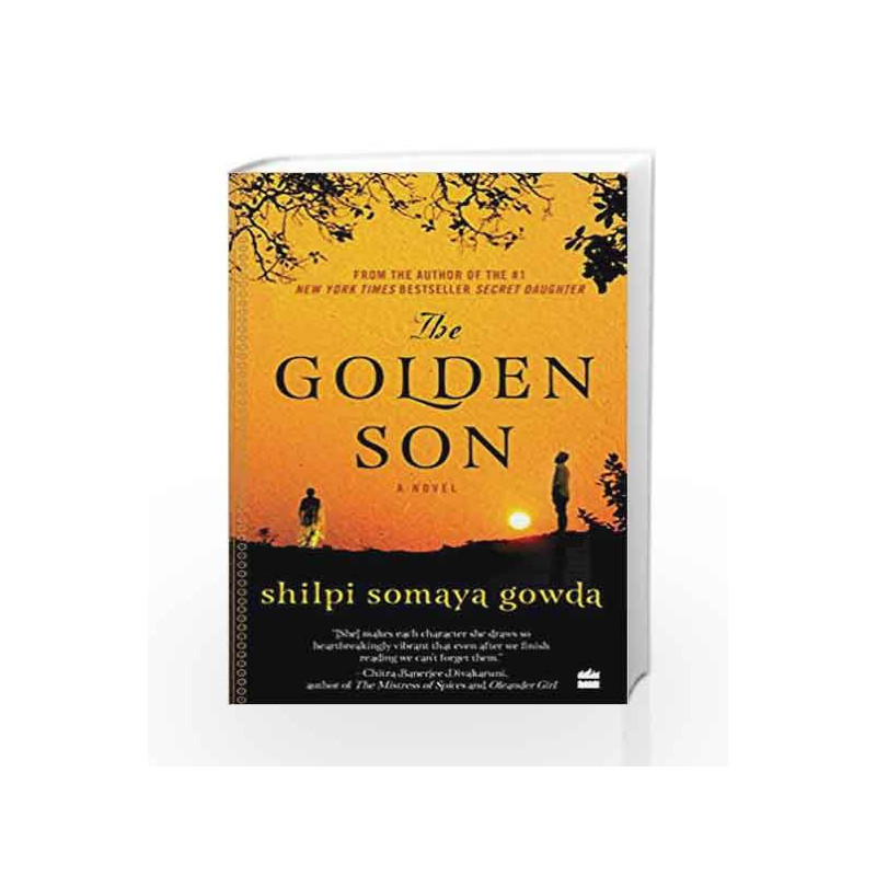 The Golden Son by Shilpi Somaya Gowda Book-9789351776949