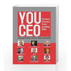 YOU CEO : Success Lessons From Leading CEOs by Vikash Mittersain Book-9789385492242