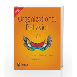 Organizational Behavior by Stephen P. Robbins Book-9789332542228