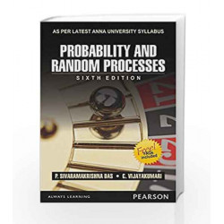 Probability and Random Processes (Anna University) by P. Sivaramakrishna Das Book-9789332542303