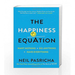 The Happiness Equation by Neil Pasricha Book-9780399169472