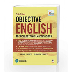 Objective English 6e: For Competitive Examination by Thorpe Book-9789332547070