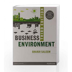 Business Environment 3/e by Shaikh Book-9789332547490