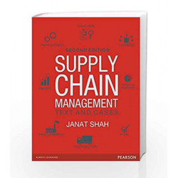 Supply Chain Management 2/e: Text and Cases by Shah Book-9789332548206