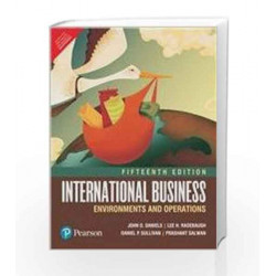 International Business 15/e by Daniels/Salwan Book-9789332548220