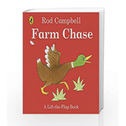 Farm Chase: A Lift-the-Flap Book (Lift the Flap Books) by Rod Campbell Book-9780141369631