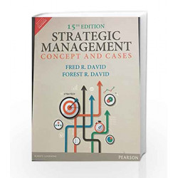 Strategic Management 15/e by David Book-9789332548930