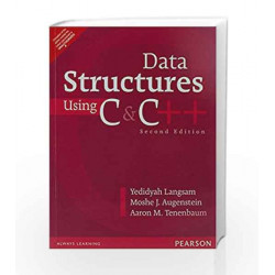 Data Structures Using C and C+ by Langsam / Augenstein / Tenenbaum Book-9789332549319