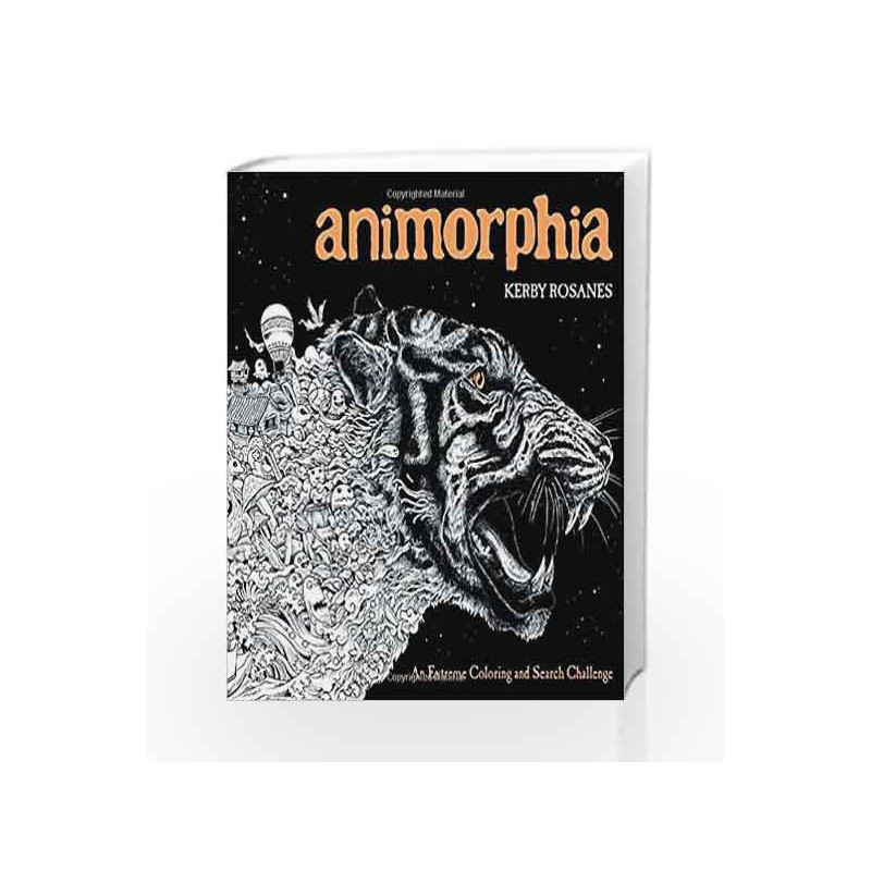 Animorphia by Kerby Rosanes Book-9780147518361