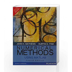 Numerical Methods Using Matlab by Mathews / Fink Book-9789332549357