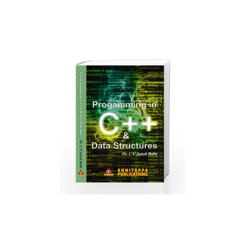 953d37d7bc Programming in C++ and Data Structures ISBN 9789381097090-Buy ...
