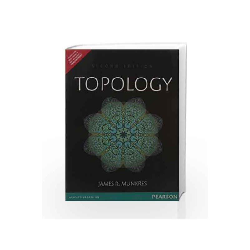 Topology by Munkres-Buy Online Topology Book at Best Price in  India:9789332549531:Madrasshoppe com