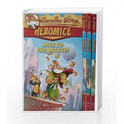 Geronimo Stilton -Heromice Slip-Case Set by NA Book-9782016052518