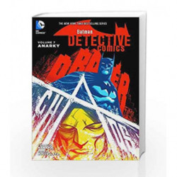 Batman: Detective Comics Vol. 7: Anarky by Buccellato Brain Book-9781401257491